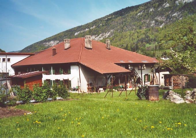 Appartement de vacances dans La Ruine du Moujik - Grandval - Lägenhet