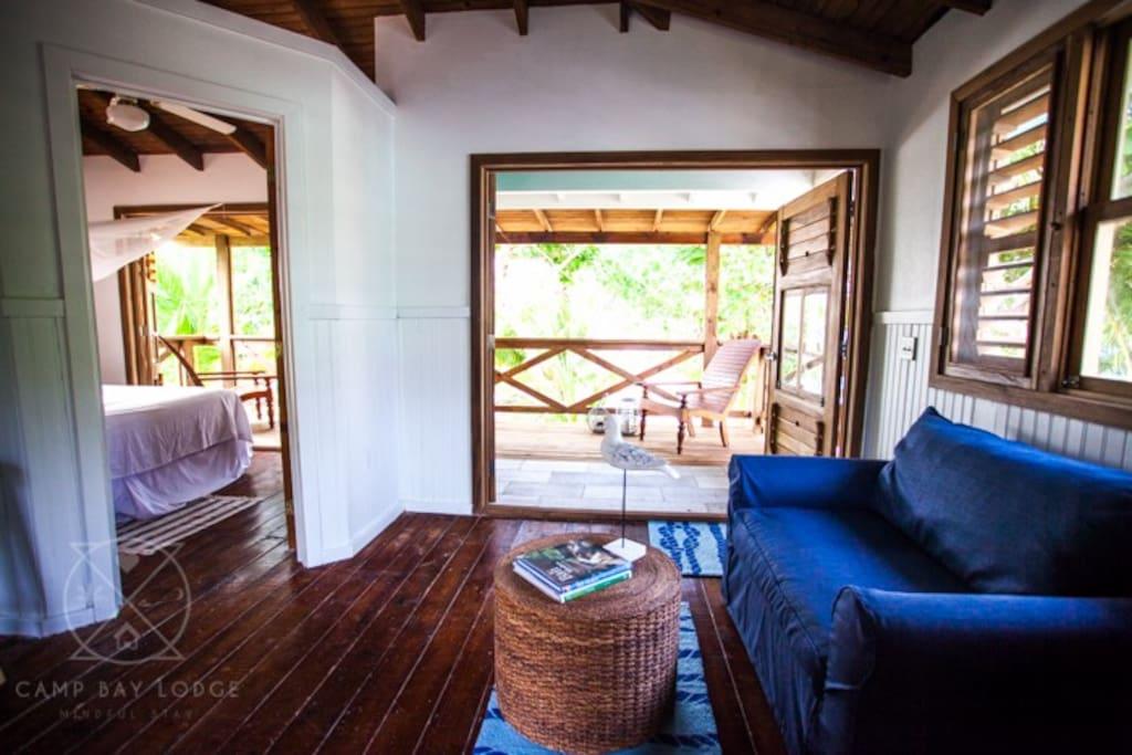 Living room  West Cabana
