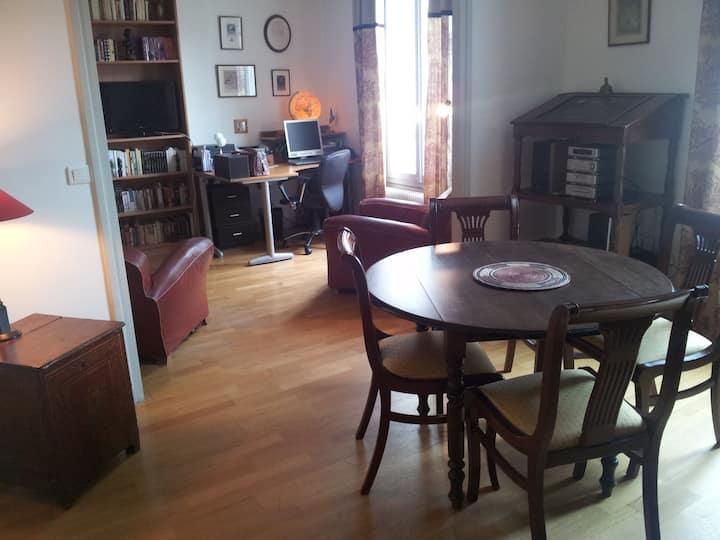 Deux chambres doubles Paris ouest, logement entier