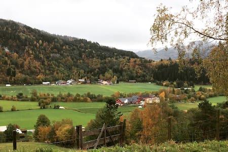Leilighet for en liten familie på Bergtun Gård