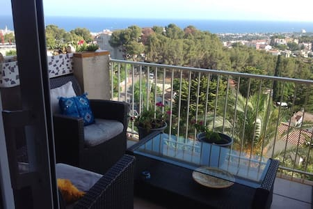 Sitges Sea View Apartment  Pool, Gardens & Parking