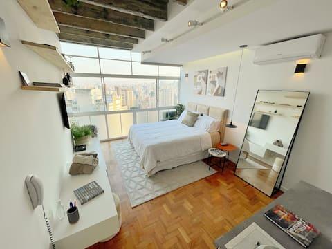 Alba @ 27 ° piano di Copan + aria condizionata + letto matrimoniale