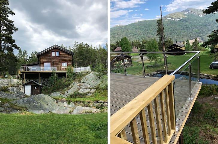 10 manns hytte. Heidal i nord-Gudbrandsdalen
