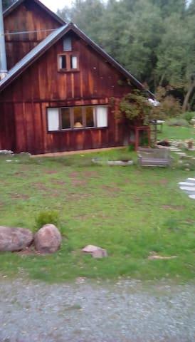 farmhouse, early spring