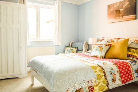 The Blue One - Bedroom
