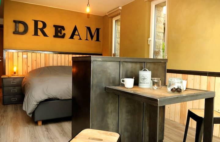 Chambre d'hôte Hamois - Ciney  jacuzzi sauna