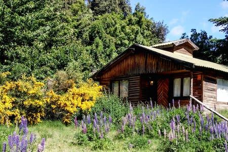 Rustic Log house near Lago Gutierrez. - San Carlos de Bariloche