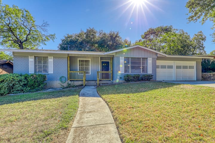 Charming 4-Bedroom, Updated Ranch North Central SA