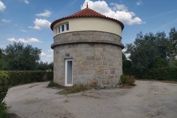 Um pequeno paraíso no meio duma vila