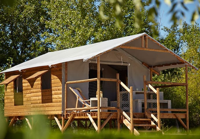 Cabane Lodge - Le Temple-sur-Lot