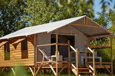 Cabane Lodge avec Spa privatif (en option) - Le Temple-sur-Lot