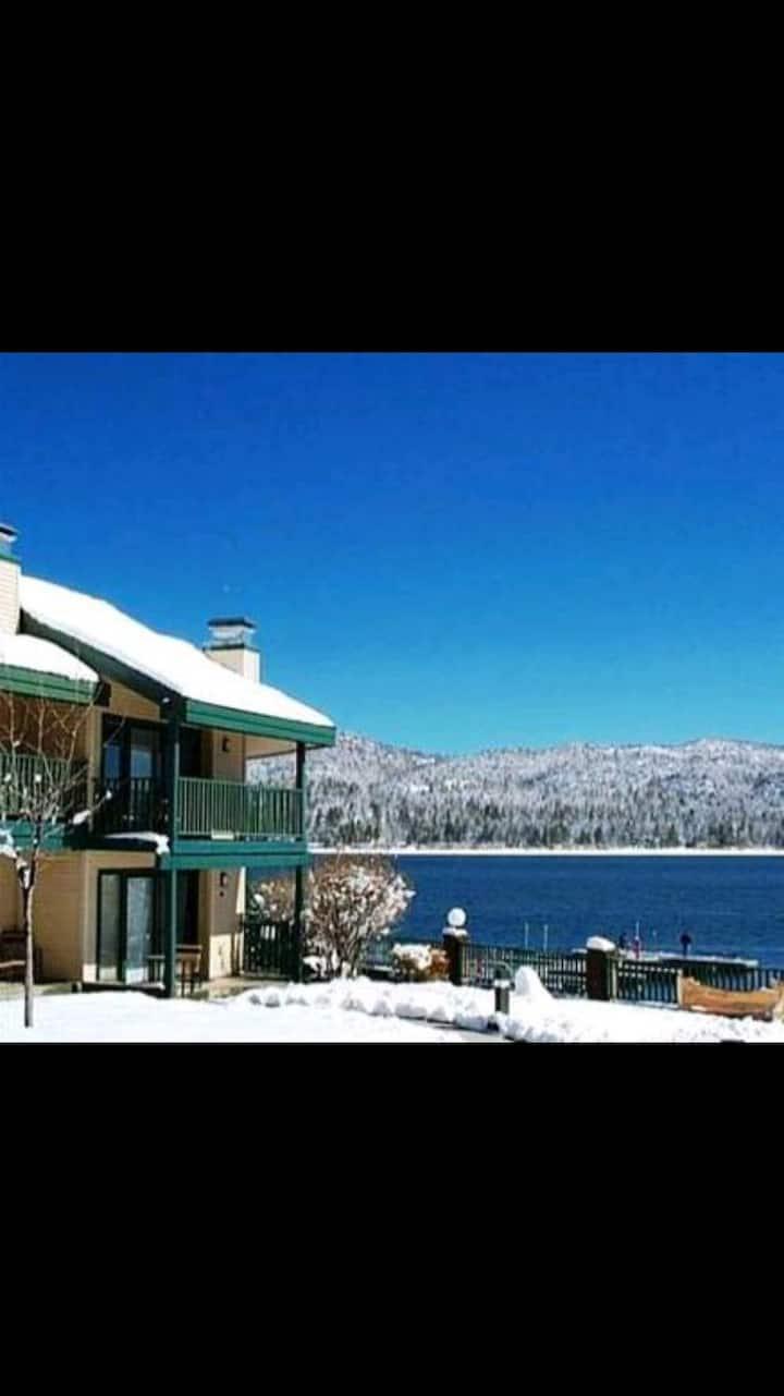 Lagonita Lodge In Big Bear right by the lake.