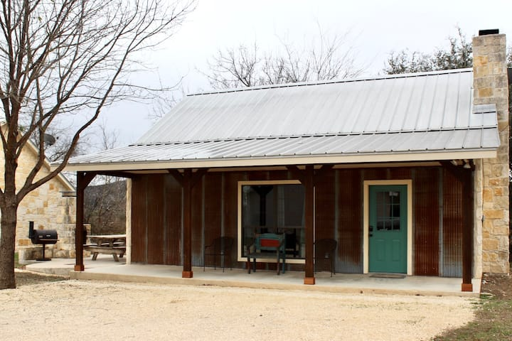 Cabins on the Frio River - River Rock Cabin #1