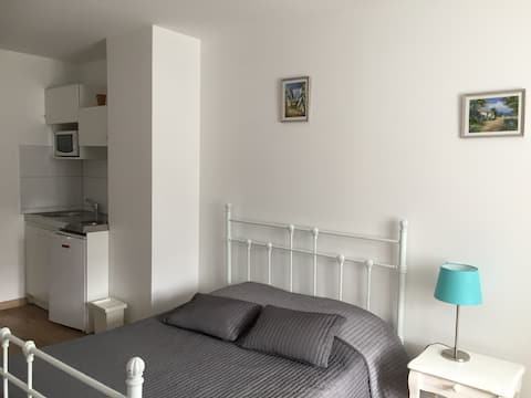 Appartement en semaine, 1 lit double