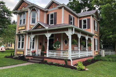 A Victorian home in the Shenandoah Valley