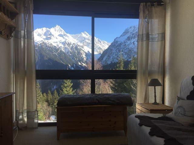 Appartement les 7 laux, ski aux pieds
