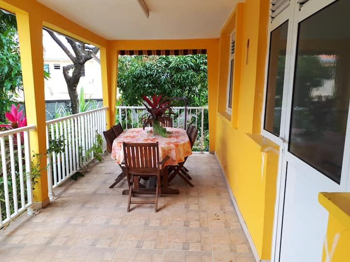 House with 4 bedrooms in Sainte-Anne, with enclosed garden and WiFi