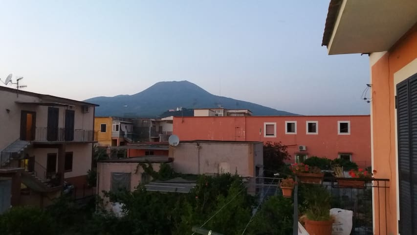 vicino al Vesuvio