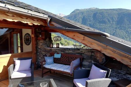 Charmant appartement avec terrasse de toit