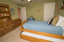 Bedroom 3, Twin w/ a Twin Trundle on Second Level