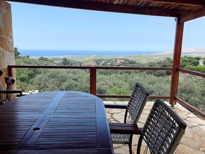 Zeus - The Cozy Villa with Amazing View!