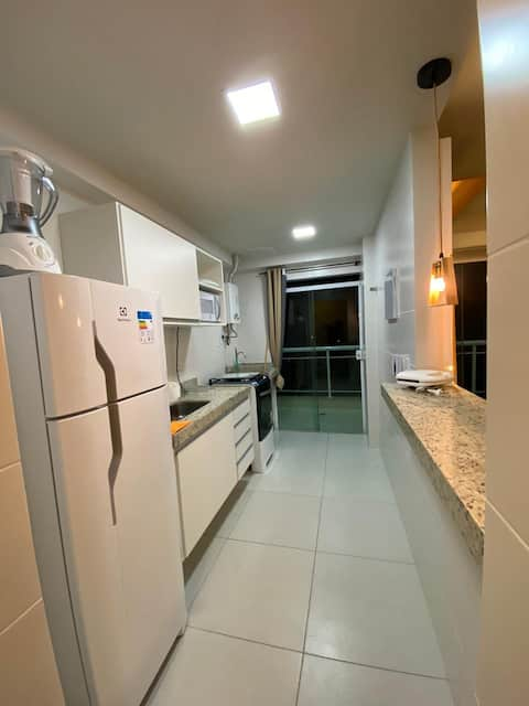 1 Bedroom Apartment 300 m from Praia do Forte