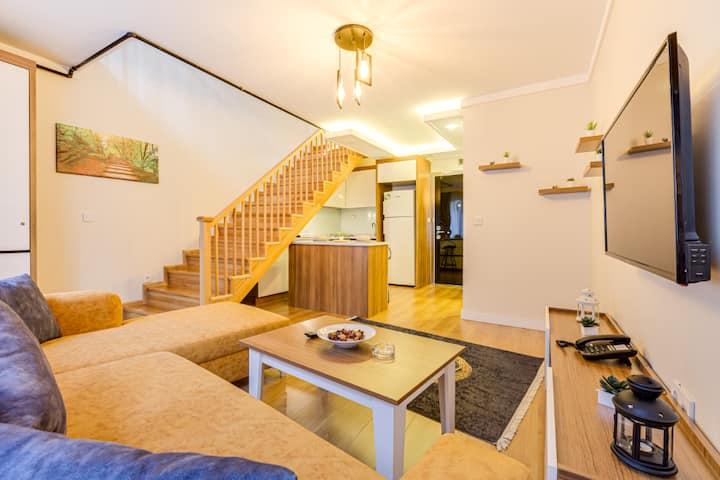 Maisonette Residence Çankaya 1+1 Dublex
