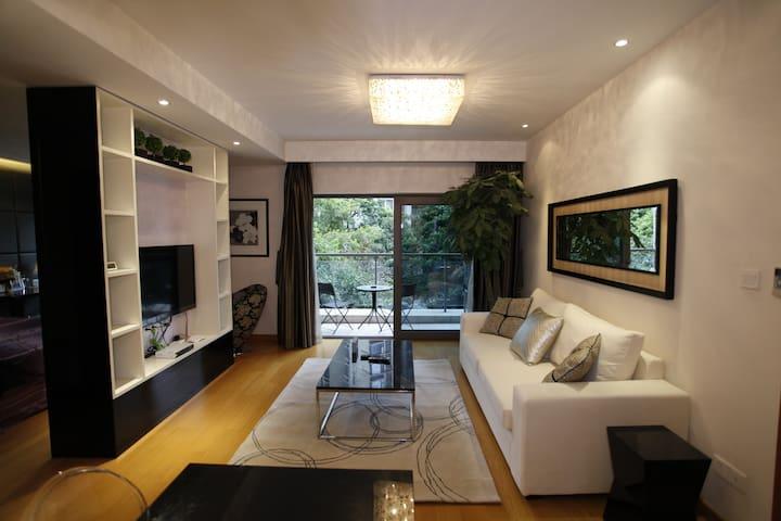 重庆天地性感套房-设计大师匠心作品-舒适与浪漫的完美结合 - Chongqing - Wohnung