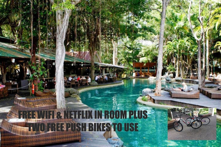 RAMADA RESORT~ 2 PUSH BIKES FREE WIFI DLX KING 339