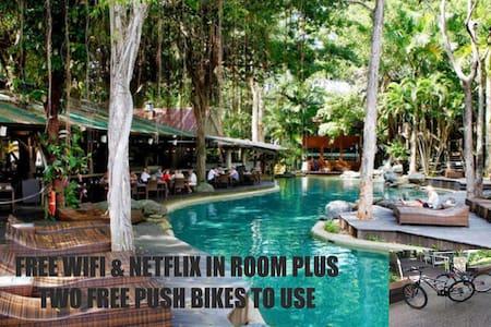 RAMADA RESORT FREE Push Bikes /WIFI /Netflix D339