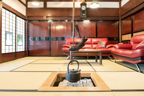 Traditional Tatami room for 3 | Breakfast included