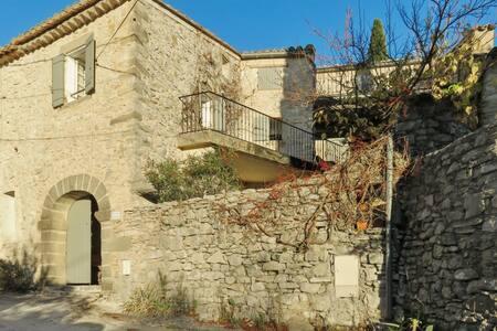 Maison avec Wi-Fi et terrasse - Belvezet