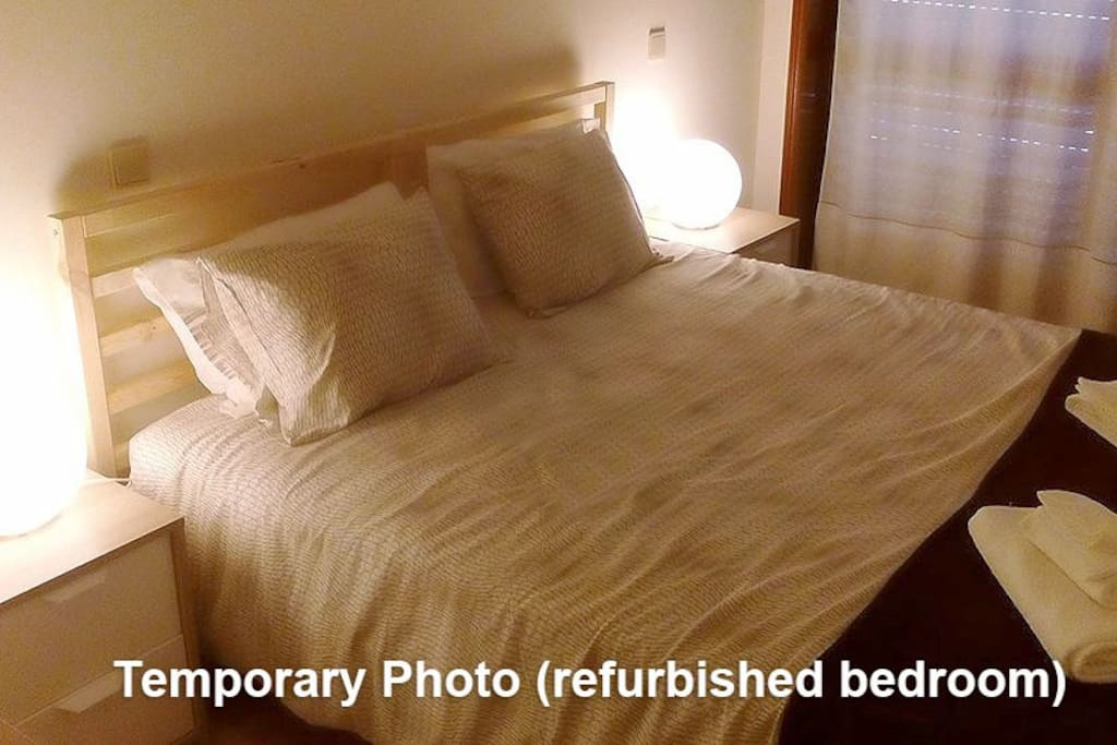 REFURBISHED BEDROOM (Temporary photo)