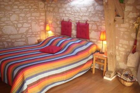 chambres d'hotes 3 personnes - Ambillou-Château - Bed & Breakfast