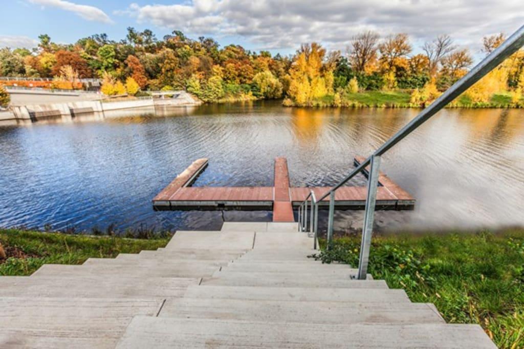 DOCK - River Wach Private Area