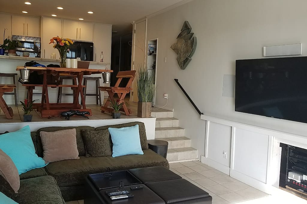 Brand new entertainment center, wireless Sonos music system, Smart TVs in each bedroom with Netflix, Hulu, Amazon Prime, and On Demand TV shoes and Movies!