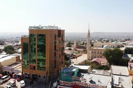 Diamond Hotel Hargeisa- Restaurant open 24Hrs/day