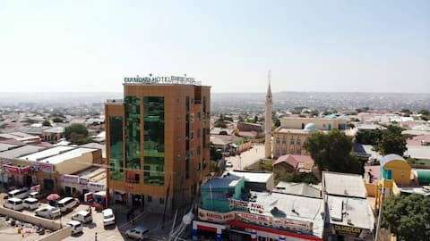 Diamond Hotel Hargeisa- Restaurant open 24Hrs/day