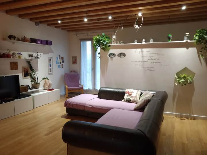 Rooms in cosy house 5min from TREVISO NORD