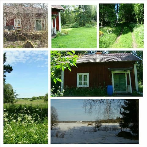 Private cabbin piece and quiet on the countryside - Köping - Hytte