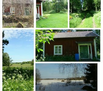 Private cabbin piece and quiet on the countryside - Köping