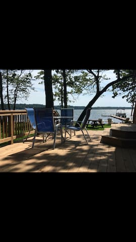 Brainerd Lakes/ Lake home summer-rental-sleeps 14
