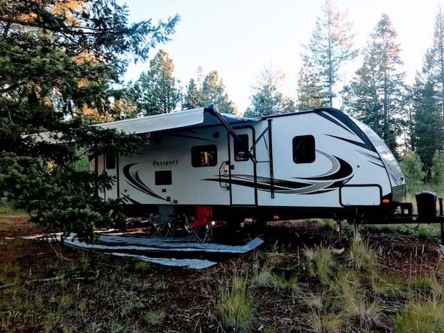 Mountainside Trailers - White Mountains AZ Camping