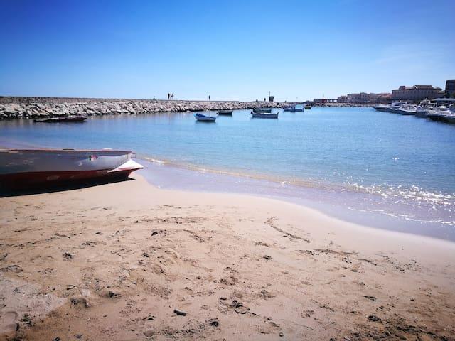 Spiaggia Sbarcadero - small beach near