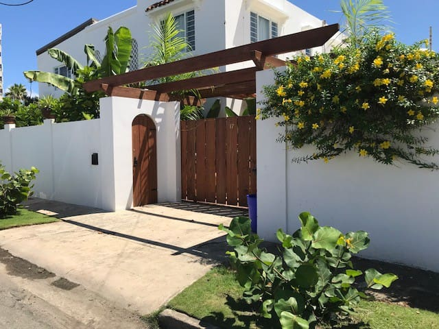 This large and beautiful home is located in the prestigious Punta Las Marias gated community. Walking distance to restaurants and popular beaches. Short drive, Uber, or bike to attractions.