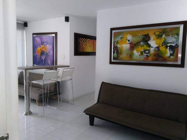 Confortable Apartamento amoblado