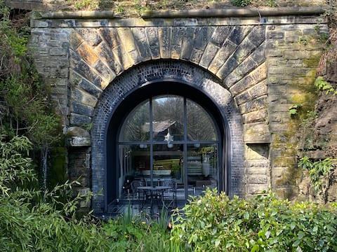 The Portal. A studio built into a railway tunnel