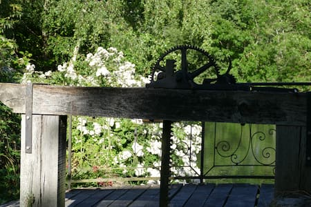 Le moulin de la Madeleine de Proust dans le Perche