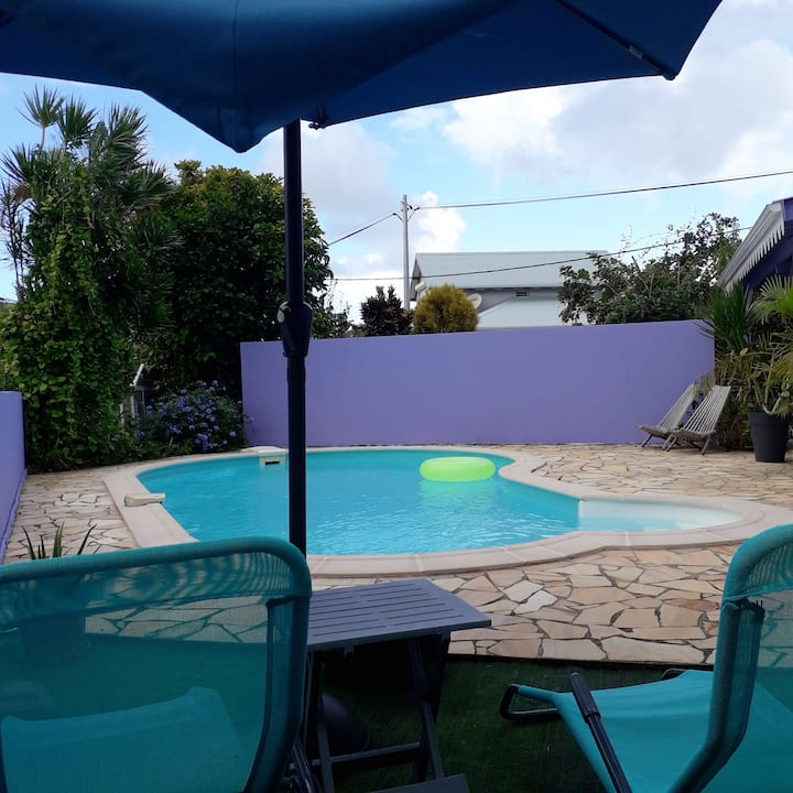 House with 2 bedrooms in Sainte-Luce, with private pool, enclosed garden and WiFi - 2 km from the beach