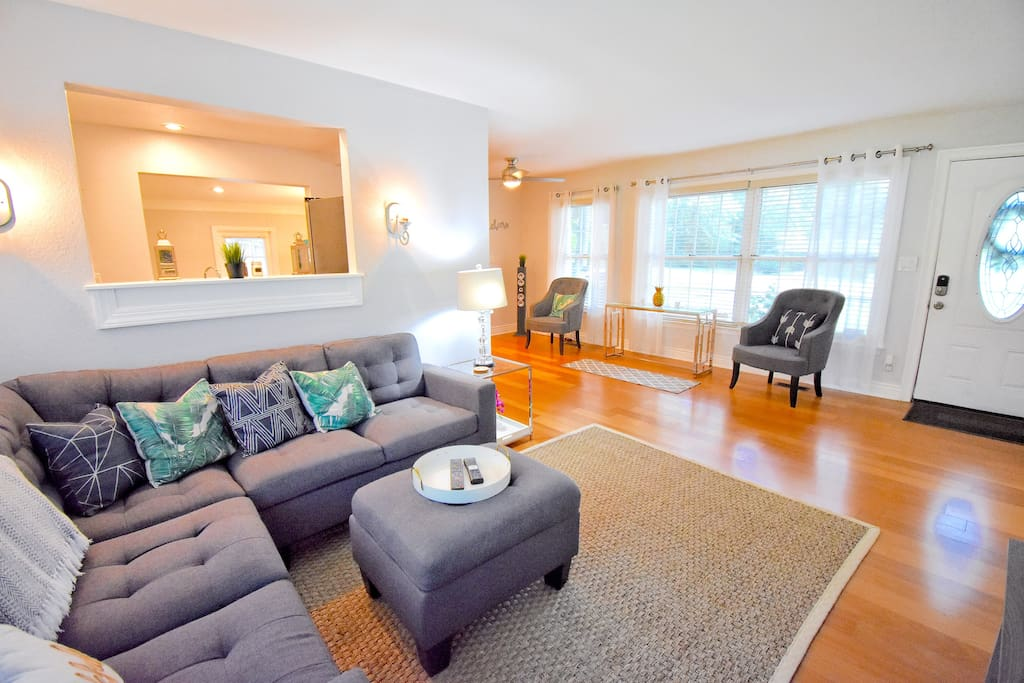 Large Living Room upstairs - open concept to enjoy your family time.